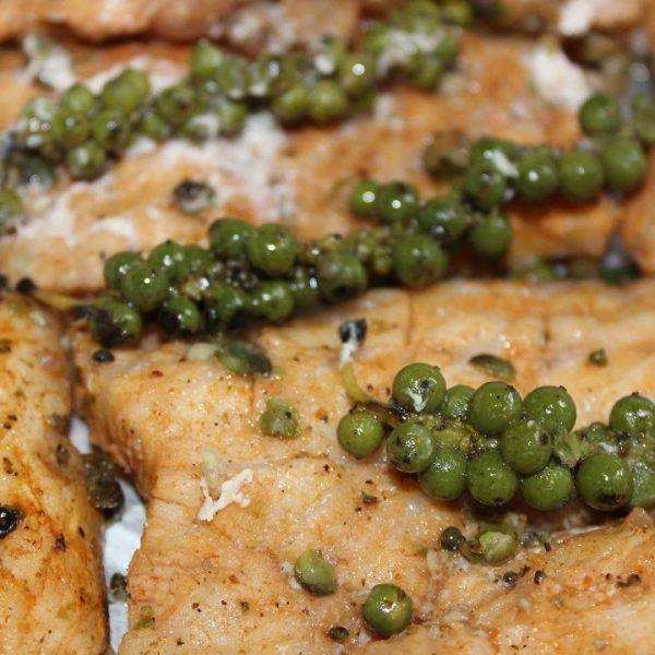 Cá dầu bò nướng tiêu lớp