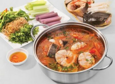 Cá chình nấu măng chua/ nấu khoai sọ