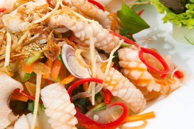 Gỏi mực Thái Lan