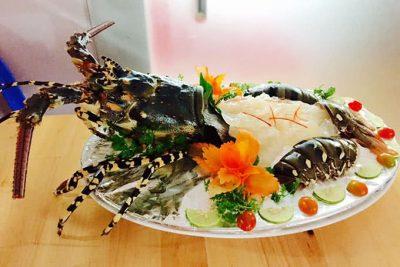 Tôm hùm bông wasabi